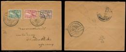 SIAM. 1925 (20 Feb). Nong Khay - BKK. Special Flight Fkd Env Cachet. Fine. - Siam