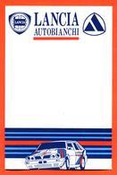 Carte Publicitaire Vierge Bristol Concessionnaire Lancia Delta Martini - Autobianchi - Chardonnet - Voitures (Courses)