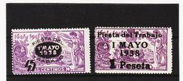 LKA216 SPANIEN 1938 MICHL 708/09 ** Postfrisch Siehe ABBILBUNG - 1931-Heute: 2. Rep. - ... Juan Carlos I