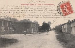 ARREMBECOURT - L'ECOLE - LA GRANDE RUE - PETITE ANIMATION - - Sonstige Gemeinden