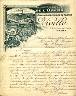PARIS.PARFUMERIE DE L'OPERA.VIVILLE PARFUMS DES FEMMES DE FRANCE 24 AVENUE DE L'OPERA. - Chemist's (drugstore) & Perfumery