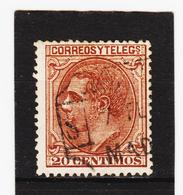 LKA217 SPANIEN 1879 MICHL 179 Gestempelt Siehe ABBILBUNG - 1875-1882 Königreich: Alphonse XII.