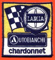 Rare écusson Lancia Autobianchi Chardonnet - Sport - Rallye - Compétition - Ecussons Tissu