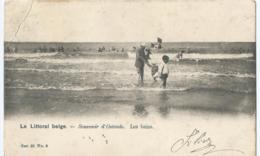 Oostende - Ostende - Le Littoral Belge - Souvenir D'Ostende - Les Bains - Ser. 28 No 9 - Vanderauwera Et Cie. - 1904 - Oostende