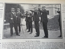 1905 LE TIR À L'ARC EN SUISSE - Journaux - Quotidiens