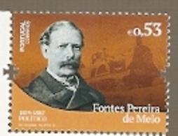 Portugal ** & Volts Of Portuguese History And Culture, Fontes Pereira De Melo, Politician 2019 (3422) - 1910-... Republic