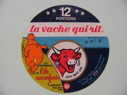 Etiquette Fromage Fondu - Vache Qui Rit - 12 Portions Bel Pub CASIMIR Et L'Ile Aux Enfants   A Voir ! - Fromage