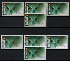 Norvegia 2002 Frama Stamps 2 Set **/MNH VF - Annate Complete