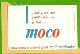 Buvard & Blotting Paper : Sodas Orange Et Citron MOTTE CORDONNIER - Limonadas - Refrescos