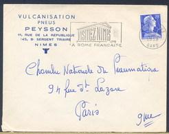 FRANCIA -   VISITEZ NIMES 1958  -  LA ROME FRANCAISE - Archeologia