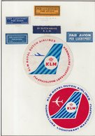 ETIQUETTES A BAGAGES : ALLEMAGNE . KLM . - Baggage Labels & Tags