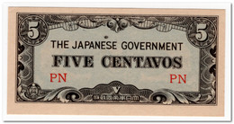 PILIPPINES,JAPANESE GOVERNMENT,5 CENTAVOS,1942,P.103,UNC - Philippines