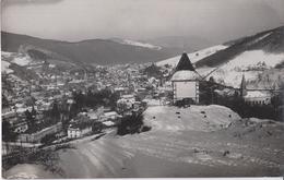 CARTE PHOTO ALLEMANDE - GUERRE 14-18 - VOGESEN (MARKIRCH) - VOSGES - VUE HIVERNALE SUR LA VILLE - Guerre 1914-18