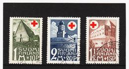 LKA191 FINNLAND 1931 Michl 164/66 Gestempelt SIEHE ABBILDUNG - Finnland