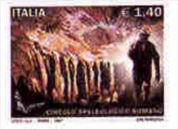 Italia - 2007 - Usato/used - Speleologia - Mi N. 3194 - 6. 1946-.. Repubblica