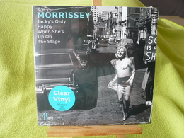 Morrissey - 45t De Couleur Transparent - Jacky's Only Happy When She's Up On The Stage - Hard Rock & Metal