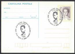 YN481   Italia,Italy Special Postmark 1999 Cagliari Ennio Porrino Compositore, Composer, Compositeur - Musik