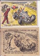 Puzzle Phosphatine. Illustration R De La Verrière - Publicités