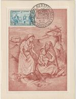 Carte-Maximum ALGERIE N° Yvert 324 (SEISME ORLEANSVILLE) Obl Sp Ill 1er Jour - Cartes-maximum