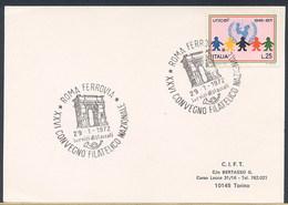 ITALIA -  ROMA  1972  -  ARCO DI TITO - Archeologia