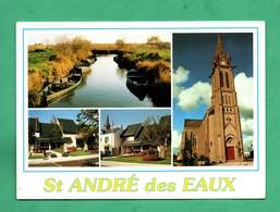 44 Loire Atlantique Saint André Des Eaux Carte Postale Mutivues - Otros Municipios