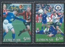 Féroé 2004 N°495/496 Neufs Sport Football - Féroé (Iles)