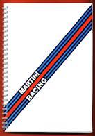 Cahier à Spirale Neuf Martini Racing Martini International Club - Rallye - Compétition - Lancia - Réseau Chardonnet - Publicité