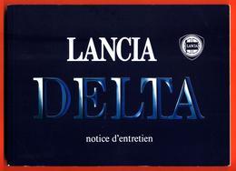 Notice D'entretien Lancia Delta - Rallye - Compétition - Lancia - Réseau Chardonnet - Boeken