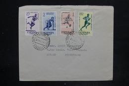 ESPAGNE - Affranchissement Plaisant ( Athlétisme ) Sur Enveloppe De Madrid Pour Monaco En 1962 - L 26167 - 1931-Heute: 2. Rep. - ... Juan Carlos I