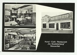"""Nieuwvliet   *  Hotel - Café - Restaurant """"De Stadsherberg""""   (CPM) Dorpstraat, 18 - Sluis"""