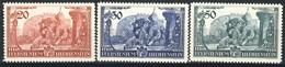 "1939 Liechtenstein MNH OG Complete Set Of 3 Stamps "" Paying Homage To Prince Franz Josef II"" - Liechtenstein"