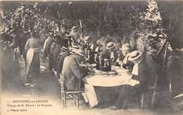 83-MONTFORT-SUR-ARGENS- VOYAGE DE M. BERARD- LA BANQUET - Autres Communes