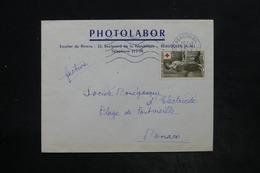 FRANCE - Affranchissement Croix Rouge De Beausoleil Sur Enveloppe Commerciale En 1957 Pour Monaco - L 26169 - Marcophilie (Lettres)