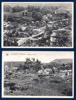 La Roche En Ardenne. Lot De 6 Cartes. Ruines Après Les Bombardements Américains De Décembre 1944 - La-Roche-en-Ardenne