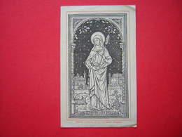 IMAGE PIEUSE / RELIGIEUSE DESCLEE LEFEBVRE Et Cie TOURNAY BELGIQUE STE GENEVIEVE DE NATERRE - Imágenes Religiosas