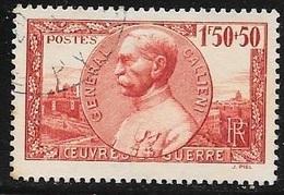 TIMBRE N° 456 -    AUX PROFIT DES OEUVRES DE GUERRE  -  OBLITERES  -  1940 - Usados