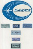 ETIQUETTES A BAGAGES : FINLANDE . FINNAIR . - Étiquettes à Bagages