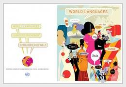 VN / UN - Postfris/MNH - FDC Sheet Wereldtalen 2019 - New York - Hoofdkwartier Van De VN
