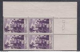 Maroc N° 265 XX Série Courante : 25 F. Violet Coin Daté Du 3 . 10 . 47 ;   Sans Charnière, TB - Unused Stamps