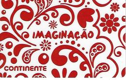 "PORTUGAL - SONAE Gift Card ""Continente - Imagination"" - Cartes Cadeaux"