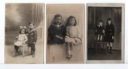 CP PHOTO - ENFANTS - 6 Photos - Personnes Anonymes