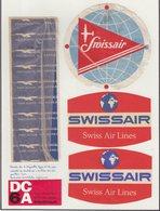 ETIQUETTES A BAGAGES : SUISSE.SWISSAIR . - Baggage Etiketten