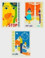 VN / UN - Postfris/MNH - Complete Set Stop Misbruik, Migratie, Gelijkheid 2019 - Gezamelijke Uitgaven New York/Genève/Wenen