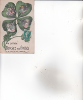 CPA 72 LA FLECHE ,Trèfle Animé.... (1910) - La Fleche