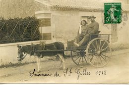 CARTE PHOTO   Vve BOUTAIN PH - Saint Gilles Croix De Vie