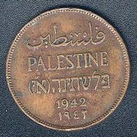 Palästina, 2 Mils 1942 - Münzen
