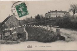 CPA B70 CHÄTEAU DE  COURTENAY - Courtenay