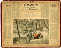 1924 - Side-car - Complet - RHONE - Calendari