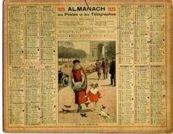 1925 - Avenue Des Champs Elysées - Complet 3 Feuillets - Grand Format : 1921-40
