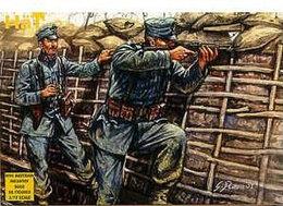 Hät Industrie Inc. 8060 WWI Austrian Infantry. - Small Figures